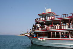 Tour boat Royalty Free Stock Image