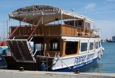 Tour boat Barca Samba Stock Images