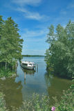 Tour Boat,Lake Dieksee,holstein Switzerland,Germany Stock Photography