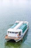 Tour boat sails. On the Putrajaya Lake Stock Images