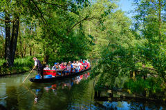 Tour Boat, Spreewald, Germany Stock Images