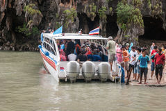 Tour Boat Royalty Free Stock Photography