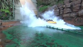 Tour boat stock video footage