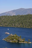 Tour Boats on Lake Tahoe in California Royalty Free Stock Photo