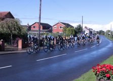 Tour of Britain cycle race stage 4 main peleton Stock Images
