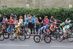 Tour of Britain 2013. The Tour of Britain Cycling race Stage 8 London UK Royalty Free Stock Photos