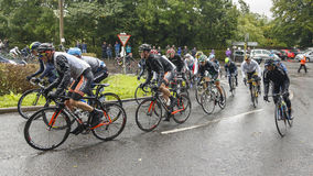 The 2013 Tour of Britain Stock Photo