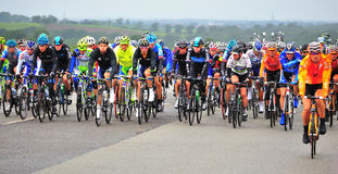Tour of Britain Stage 4. From Carlisle to Blackpool Royalty Free Stock Photos