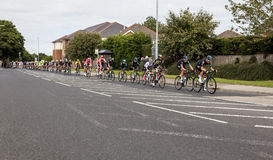 Tour of Britian Cycle Race 2016. stock images