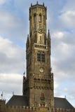 Tour Bruges HDR de Belfort Photographie stock libre de droits