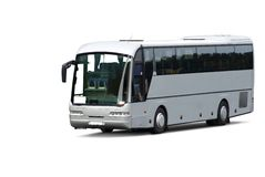 Tour bus royalty free stock images