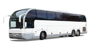 Tour bus royalty free stock image