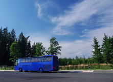 Tour bus Stock Image