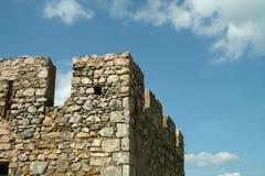 Tour carrée de château médiéval image stock