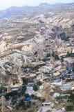 Tour chaud de ballon à air, Cappadocia Photos stock
