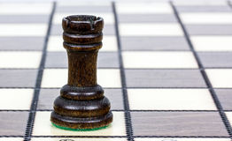 Tour on a chessboard Royalty Free Stock Photography