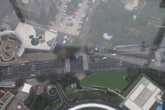 Tour Chine de Changhaï TV images stock