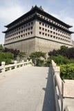 Tour chinoise de porte Photo libre de droits