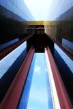 Tour colorée et dynamique de ville Photo stock
