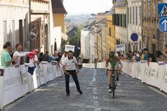 Tour of Croatia race winner of stage 6 Paolo Simion Royalty Free Stock Image