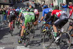 Tour of Croatia 6th stage Samobor - Zagreb Royalty Free Stock Image