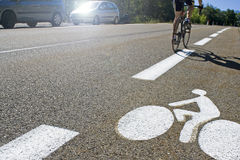 Tour, cycling in France. Stock Photography