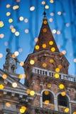 Tour d'église à Venise italienne image libre de droits