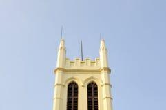 Tour d'église Photographie stock