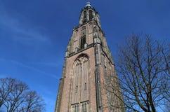 Tour d'église d'Amersfoort, Hollande Photographie stock libre de droits