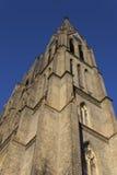 Tour d'église de rue Ludmila Image stock