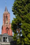 Tour d'église de Sint Janskerk à Maastricht, Pays-Bas photographie stock