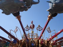 Tour d'éléphant Photo stock