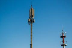 Tour d'émetteur de GSM Photos libres de droits