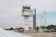 Tour d'aéroport de Gérone Costa Brava Barcelona Image libre de droits