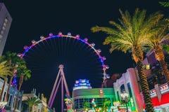 Tour d'amusement de flambeur, Las Vegas, Nevada photos libres de droits