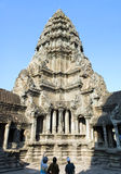 Tour d'Angkor Wat Photo libre de droits