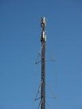 tour d'antenne aérienne au-dessus de ciel bleu Photos libres de droits