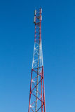 Tour d'antenne de communication Photographie stock
