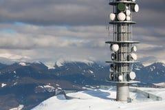 Tour d'antenne de transmission Image libre de droits