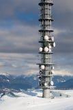Tour d'antenne de transmission Image stock