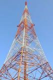tour d'antenne par radio Images stock