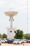 Tour d'antenne parabolique Photo libre de droits