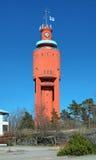 Tour d'eau dans Hanko, Finlande photographie stock