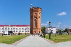 Tour d'eau historique dans Tobolsk, Russie photographie stock libre de droits