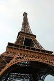 Tour d'Eiff. The bottom view on Tour d'Eiffel Royalty Free Stock Images