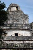 Tour d'EL Caracol dans Chichen Itza Image stock