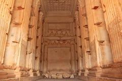 Tour d'Elahbel Ruines de la ville antique du Palmyra peu avant la guerre Images libres de droits