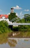 Tour d'Erlöserkirche, Bamberg Photo stock