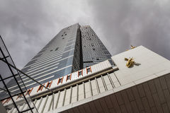 Tour d'Eureka à Melbourne, signe de Skydeck Photos stock