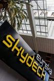 Tour d'Eureka à Melbourne, signe de Skydeck Images libres de droits